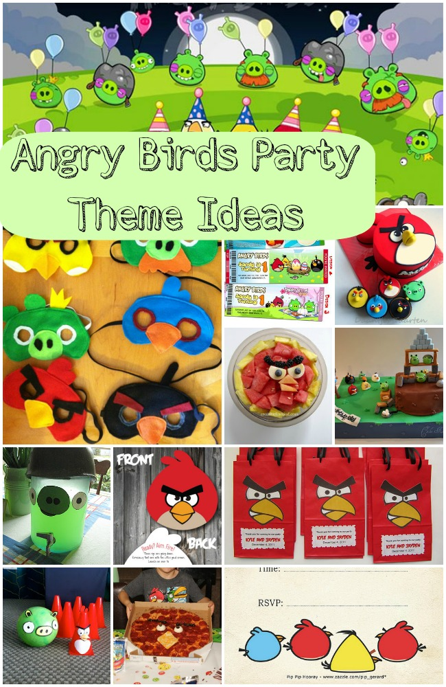 Best Angry Birds Party Theme Ideas This Month