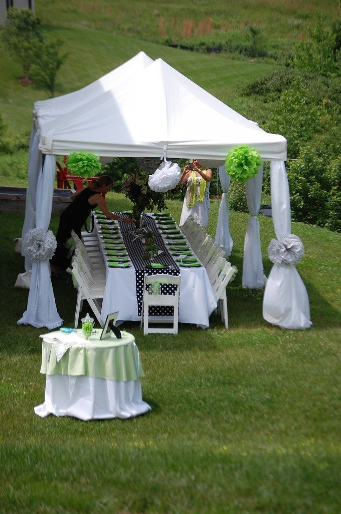 Best Baby Shower In Lime Black And White 11 Magnolia Lane This Month