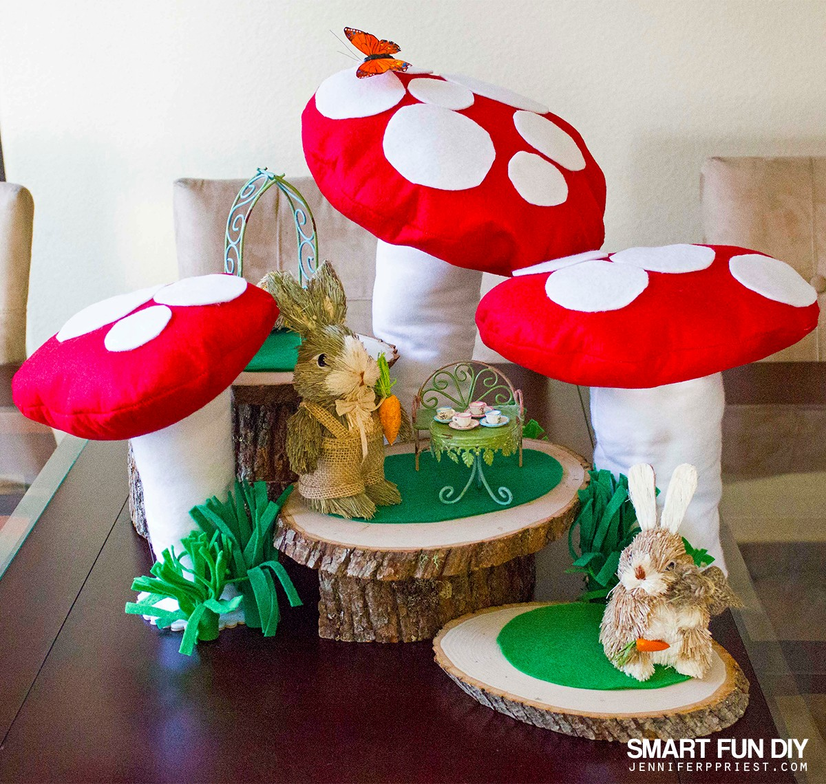 Best Diy Fairy Garden With Giant Mushrooms This Month