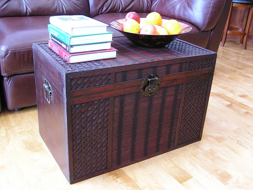 Best Hawaii Large Wood Storage Trunk Wooden Hope Chest Ebay This Month