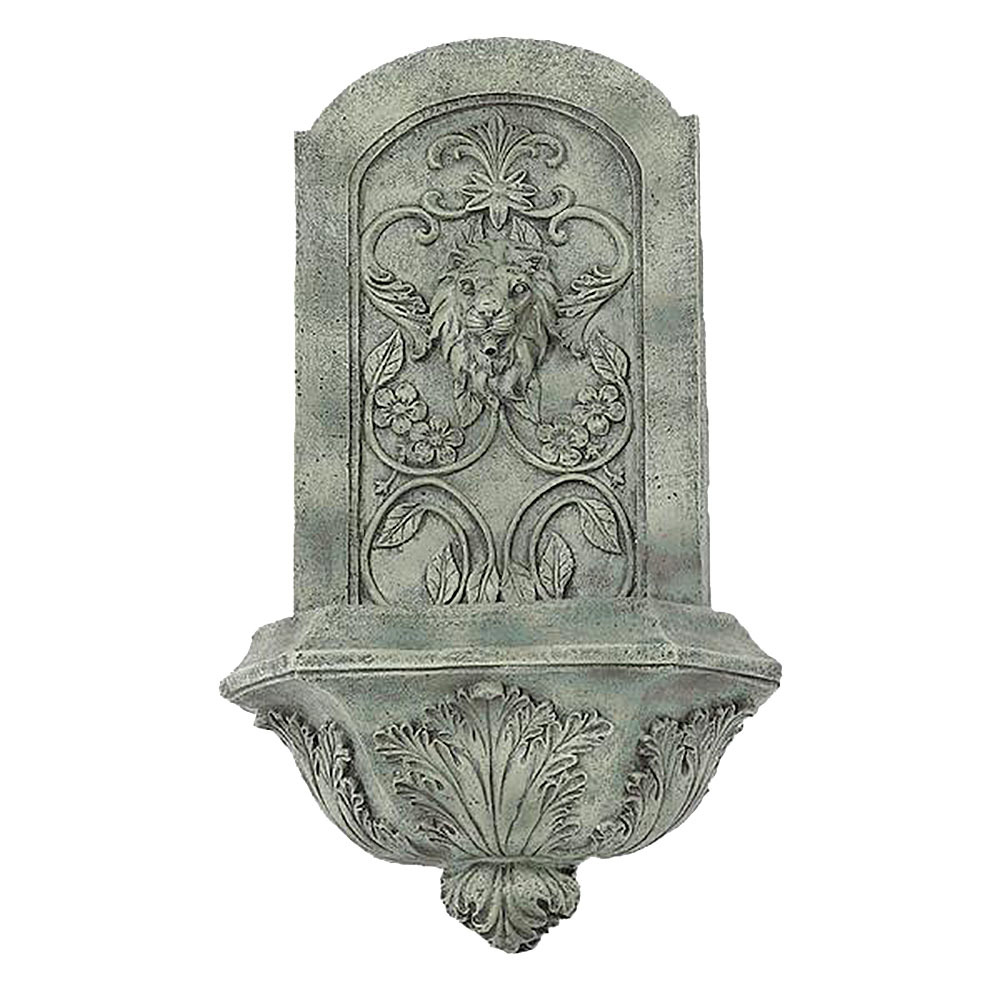 Best Sunnydaze Decorative Lion Outdoor Wall Fountain This Month