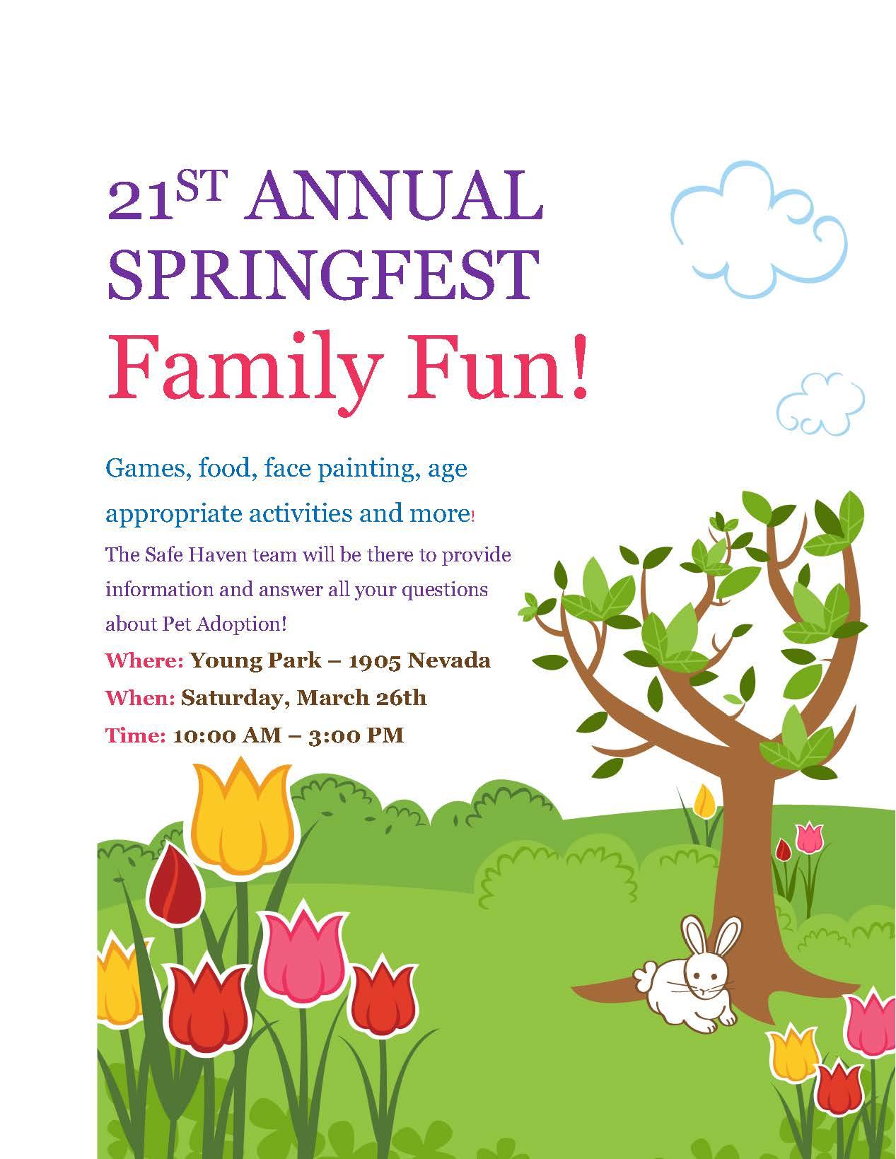21st Annual Springfest