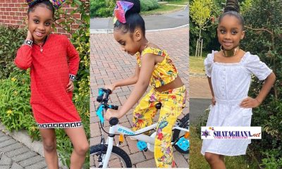 Asamoah Gyan Celebrates His Daughter, Ohemaa With Beautiful Photos As She Marks Her Birthday Today