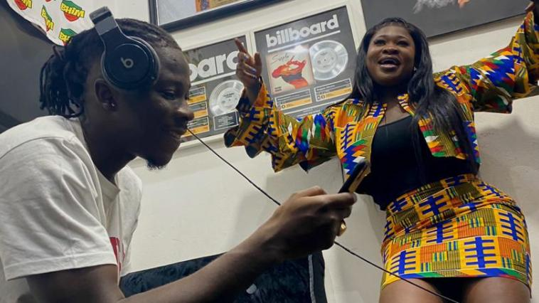 Sista Afia set to release a track featuring Stonebwoy