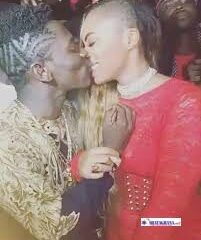 Throwback Video Of Shatta Wale Passionately Kissing Shatta Michy Pops Up