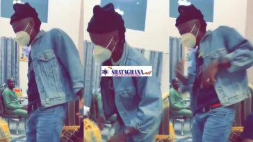 Stonebwoy shows off crazy dance moves on, Putuu song; pray e go better