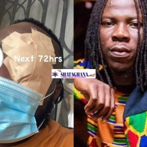 So…Stonebwoy Punched Sarkodie's Manager Angel Town All Because Of Car Park | Video Of What Actually Happened