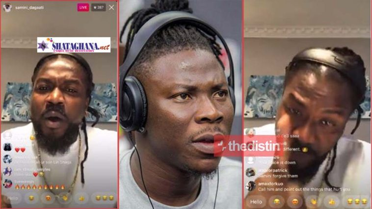 """""""don't play with me"""" Angry Samini Hits At Stonebwoy Again In Live Video"""