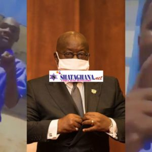 Angry SHS students insult Nana Akuffo Addo over difficult WASSCE question (VIDEO)