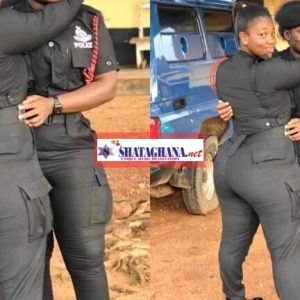 These Ghanaian Female Police Officers Are Turning Heads On Social Media With Their Big Nyash | Watch