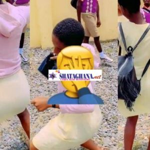 Free SHS Girls Twêrk Wildly After Completing Their WASSCE Exams – Watch Video Here