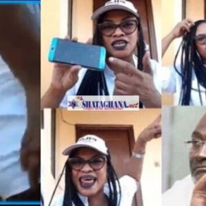 Kennedy Agyapong's Baby mama put her butt0cks On Display As She Invoke Curse on a Pastor