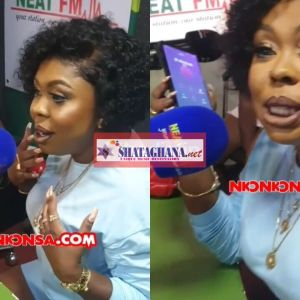 Disgraceful Afia Schwar Admits She Has Enlarged Her Butt On Okay Fm In Front Of Her Daughter, Ghanaians Blast Her | Video