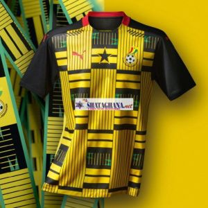 New Jersey of Black Stars Pops Up Check [+Photos].