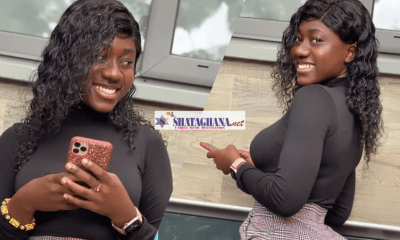"""Hajia Bintu does it again, drops another set of photos showing the rare size of her """"property"""""""