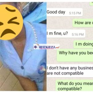 'You're A Two Minutes Man'-16yr Old Girl Says She Breaks Up With Boyfriend, 29