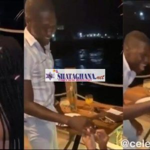 Did She Die?: Beautiful lady proposes to her boyfriend