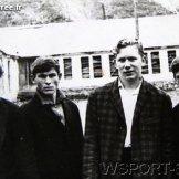 Бауд Ахмадов, Руслан Гугаев, Евгений Петров, В.Ситников. Конец 60-х.