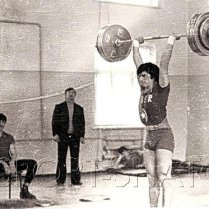 1978 год. Спартакиада школьников Чечено-Ингушетии. Мовлади Абдулаев - абсолютный чемпион соревнований.