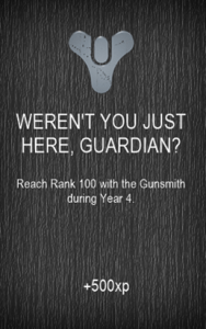 WEREN'T YOU JUST HERE, GUARDIAN