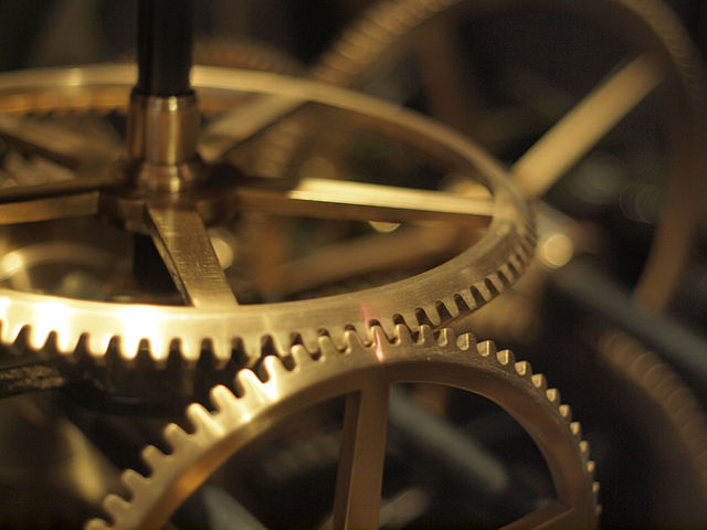 Clockwork at the Liverpool World Museum