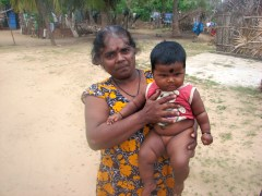 Possibly the chubbiest (and cutest) baby in all of Jaffna.