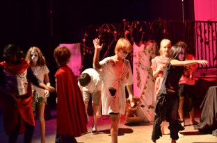 Of course, no middle school play is complete without zombies!