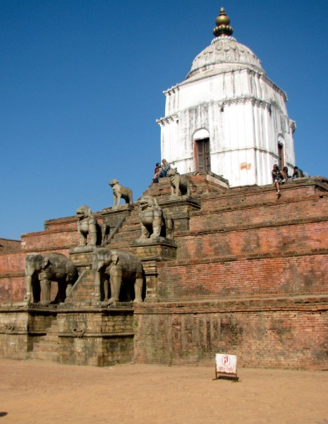 Some more temples in Bhaktapur.