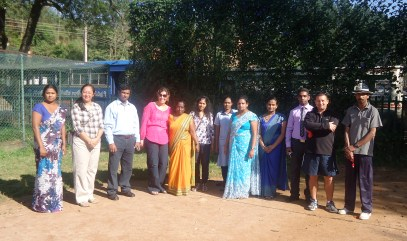 The teachers of Bandarawela Sussex are pictured with our grade 6 team. We look forward to continuing professional exchanges with them.