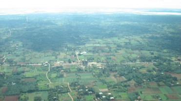 A look at the Jaffna Peninsula from the air.