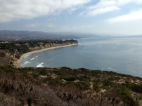 Point Dume looking back at LA.