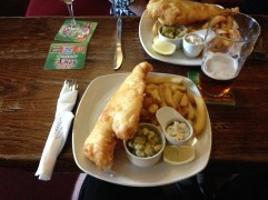 No journey in England in complete without tasting lots of pub food.