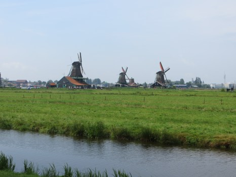 Here we learned all about the traditional Dutch windmill.