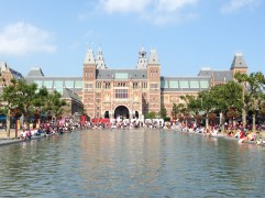 We did get into the Rijksmuseum for free!
