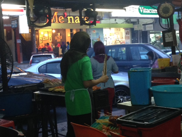 Nothing beats eating meat on a stick! Street food here is delicious, plentiful and cheap.