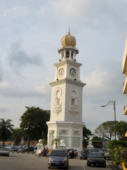 George Town, the main city on the island, is a mix of British colonial buildings with a nice mix of mosques, temples and churches.