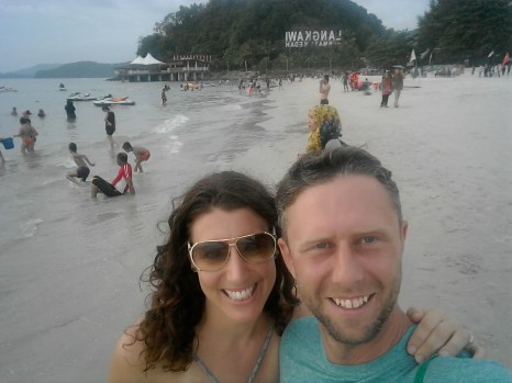 We started our Christmas in Langkawi - a duty-free island just a 1-hour flight from Kuala Lumpur. Nice beaches and hiking.