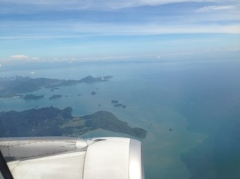 Here's a look at Langkawi as we flew away.