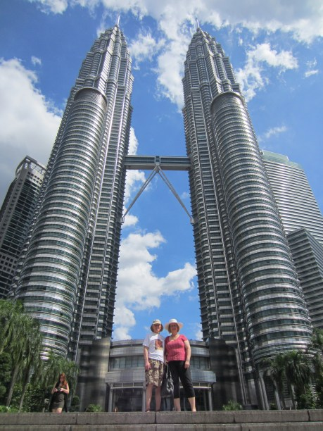 All good KL tours start at the towers. Staring up at them never gets old.