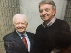 Phil with President Jimmy Carter