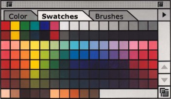 """""""1st Swatch"""" Acrylic on Panel, Sold"""
