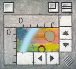"""Untitled Landscape"" Acrylic on Panel, NFS"