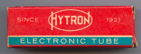 Hytron earlier Tube Box