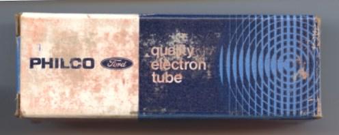 Philco Ford Tube Box