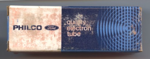 Philco Ford Tube Box