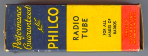 Philico earlier Tube Box