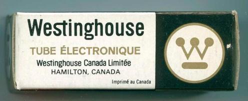 Westinghouse Canada Tube Box