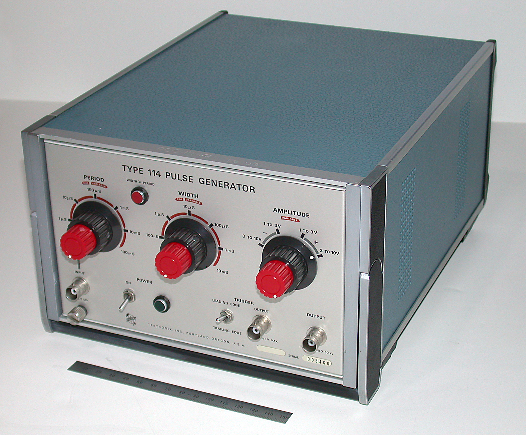 Tektronix Type 114 Pulse Generator Repair