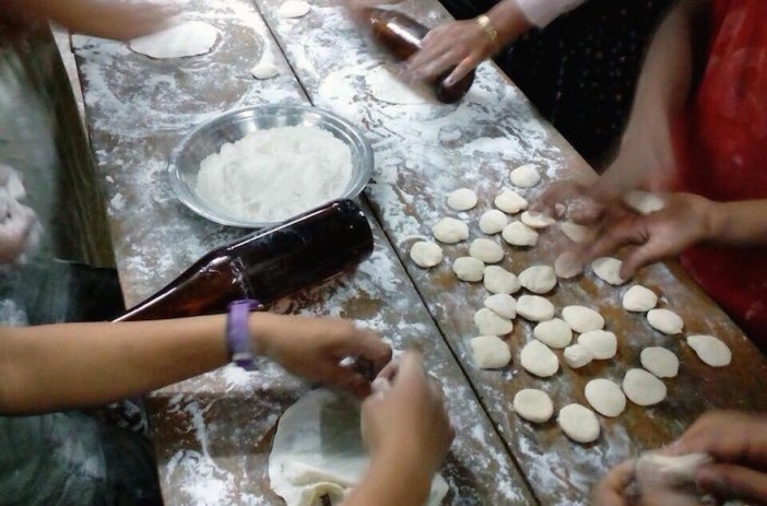 Matza baking in Manipur 5