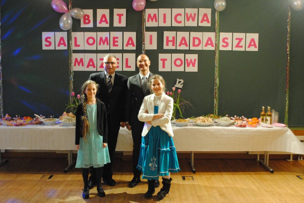 Podwójna Bat Mitzwa w Krakowie